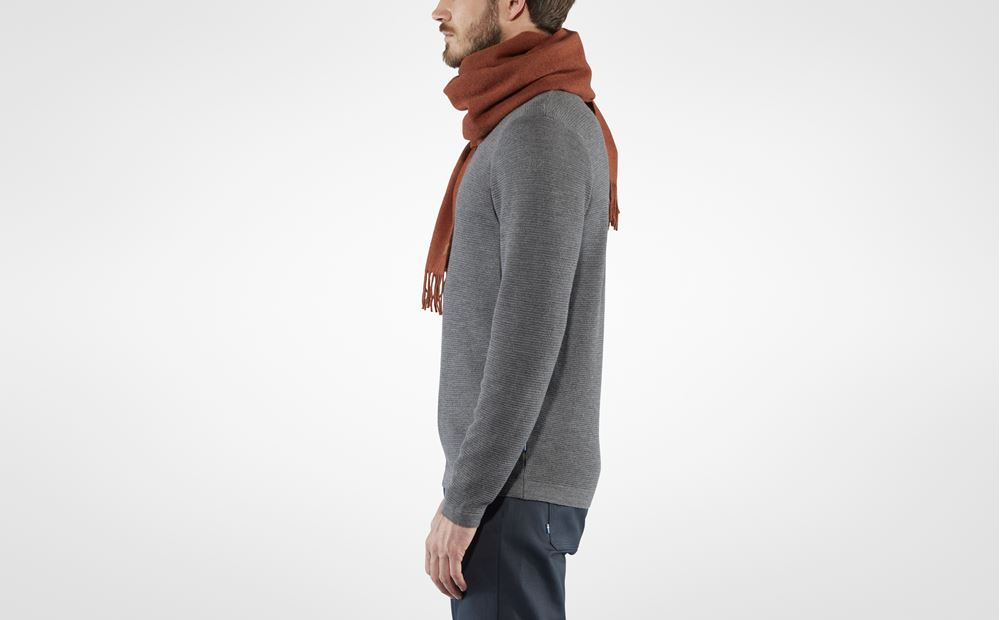 Fjallraven 小狐狸 羊毛經典圍巾 Solid Re-Wool Scarf